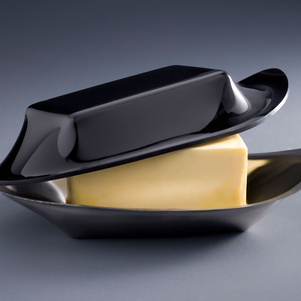 butter dish  fink design - butter dish