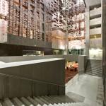 Hotel Realm Foyer installation